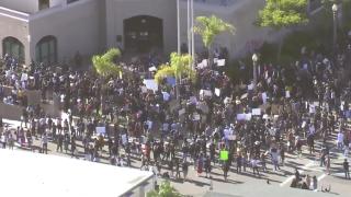 La Mesa protests May 30