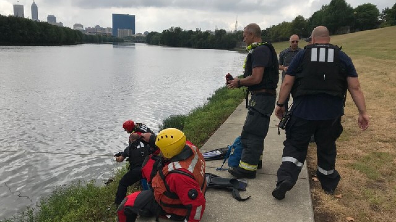 Person rescued from White River Sunday morning