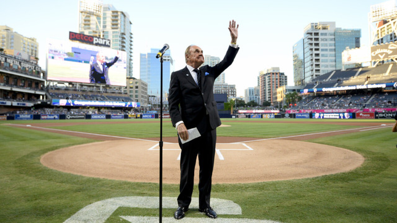 Memorial arrangements set for Dick Enberg