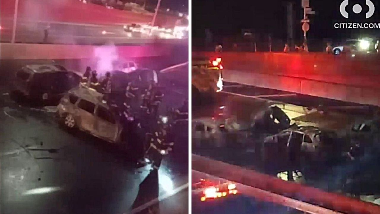 2 killed in multi-car crash in the Bronx