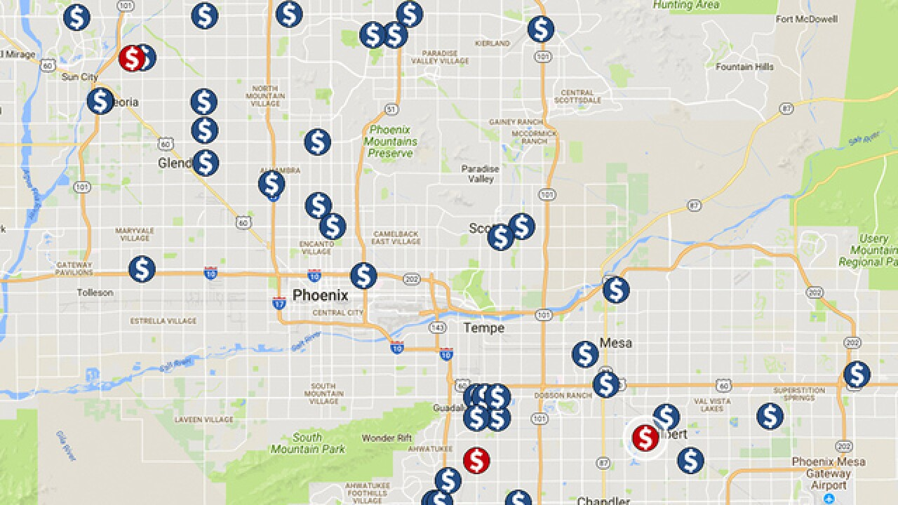 Credit card skimmers in Arizona: 87 found since January 2017