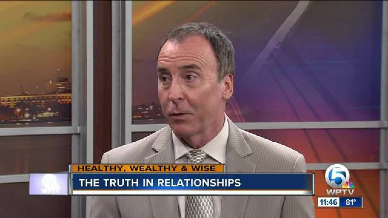 Terry Lyles outlines the importance of honesty in relationships