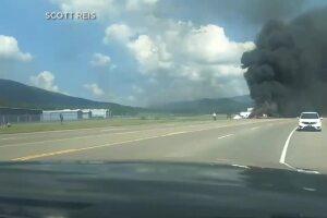 Dash Cam: East Tenn. Plane Crash