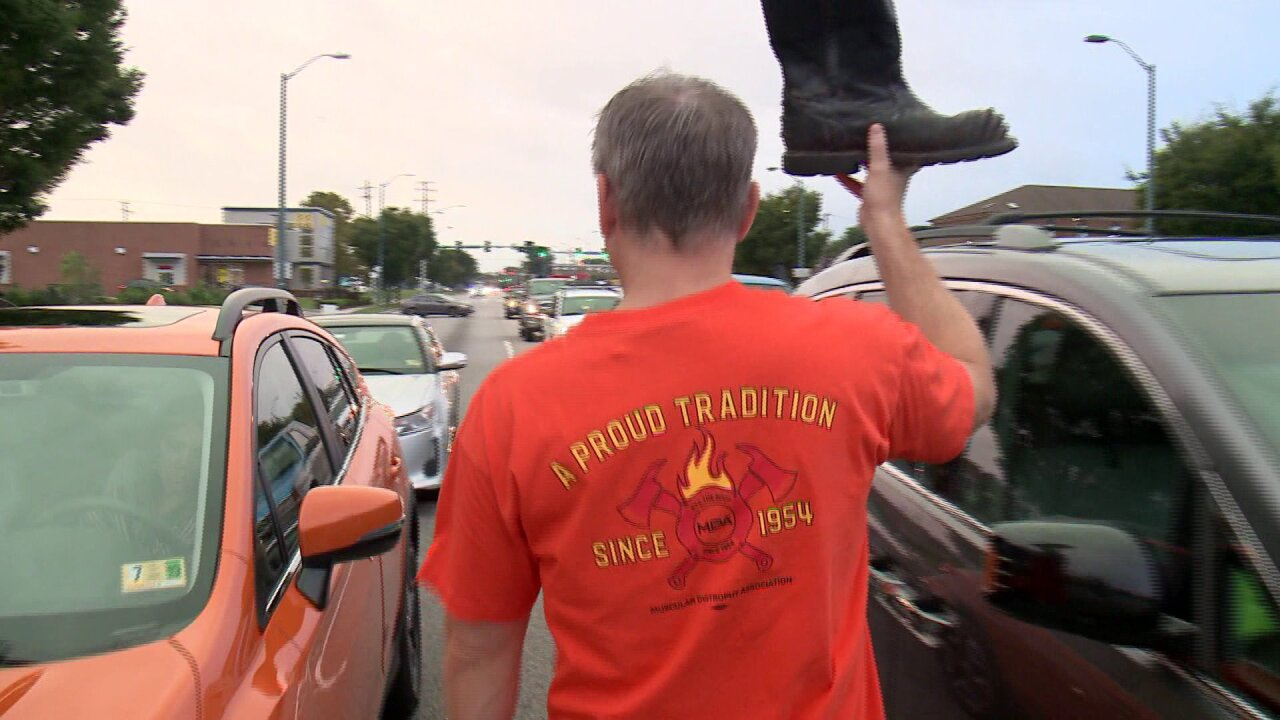 Firefighters will make 130-mile walk to Richmond for muscular dystrophyawareness