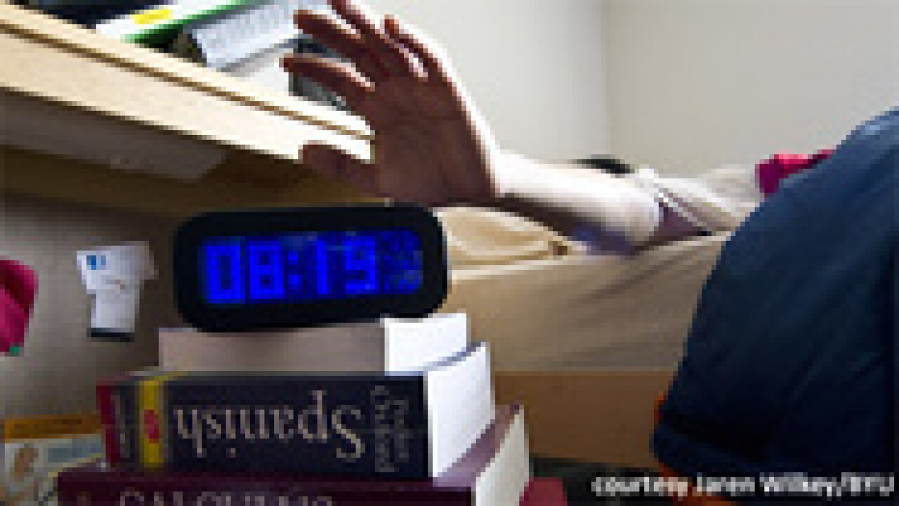 BYU study: 7 hours of sleep nets top test scores