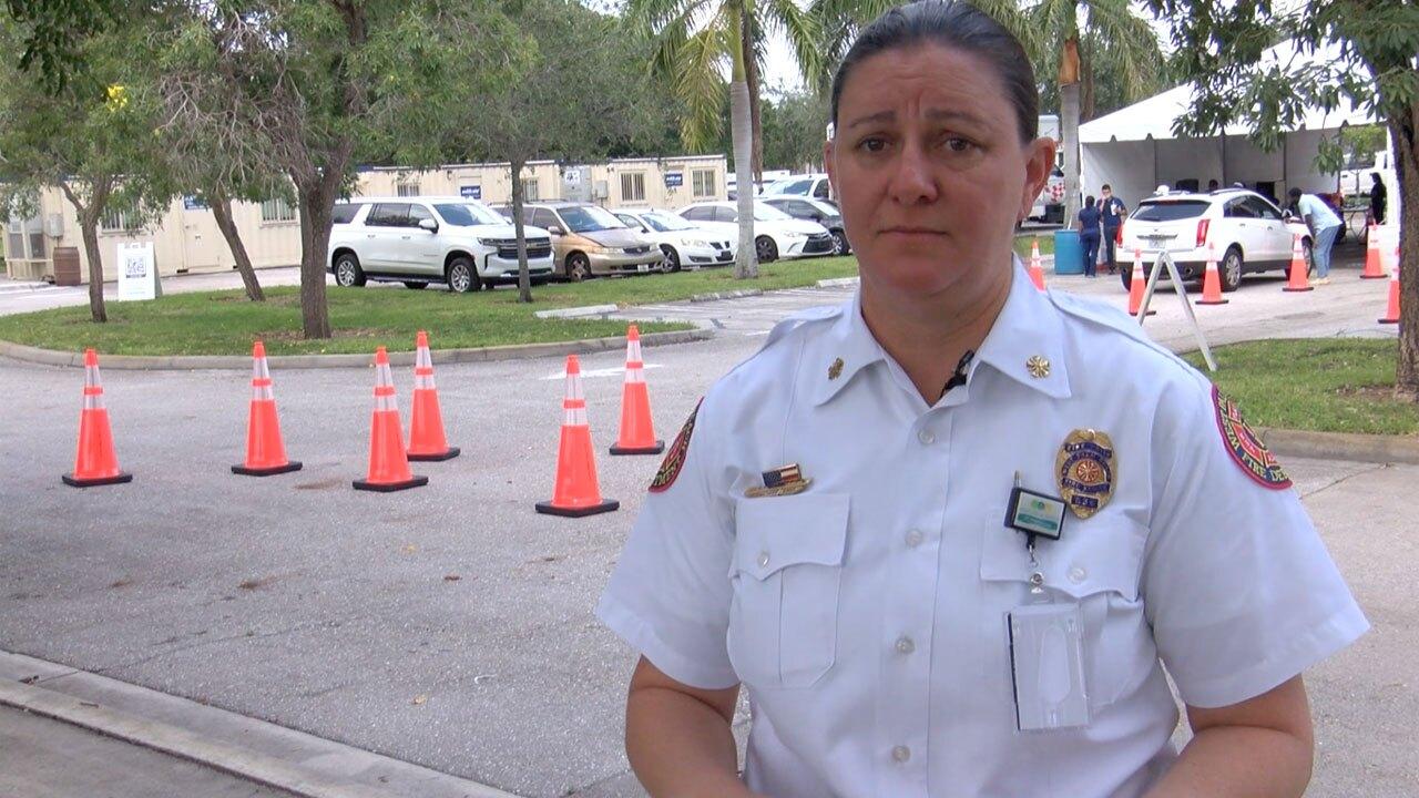 West Palm Beach Fire Chief Diana Matty