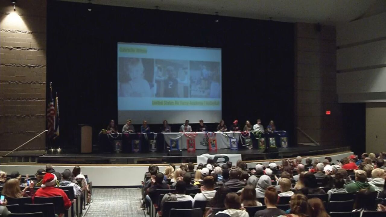 Signing Day takes center stage at Pine Creek