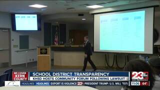 "KHSD to host ""climate"" forum"