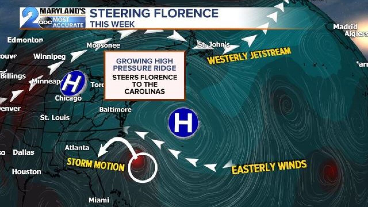 FLORENCE LATEST: Will It Miss Maryland?