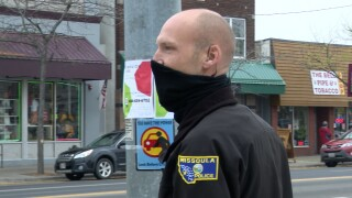 Officer Jay Gillhouse Missoula's new BID officer