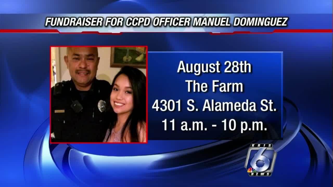 Benefit for CCPD Officer Manuel Dominguez set for Saturday