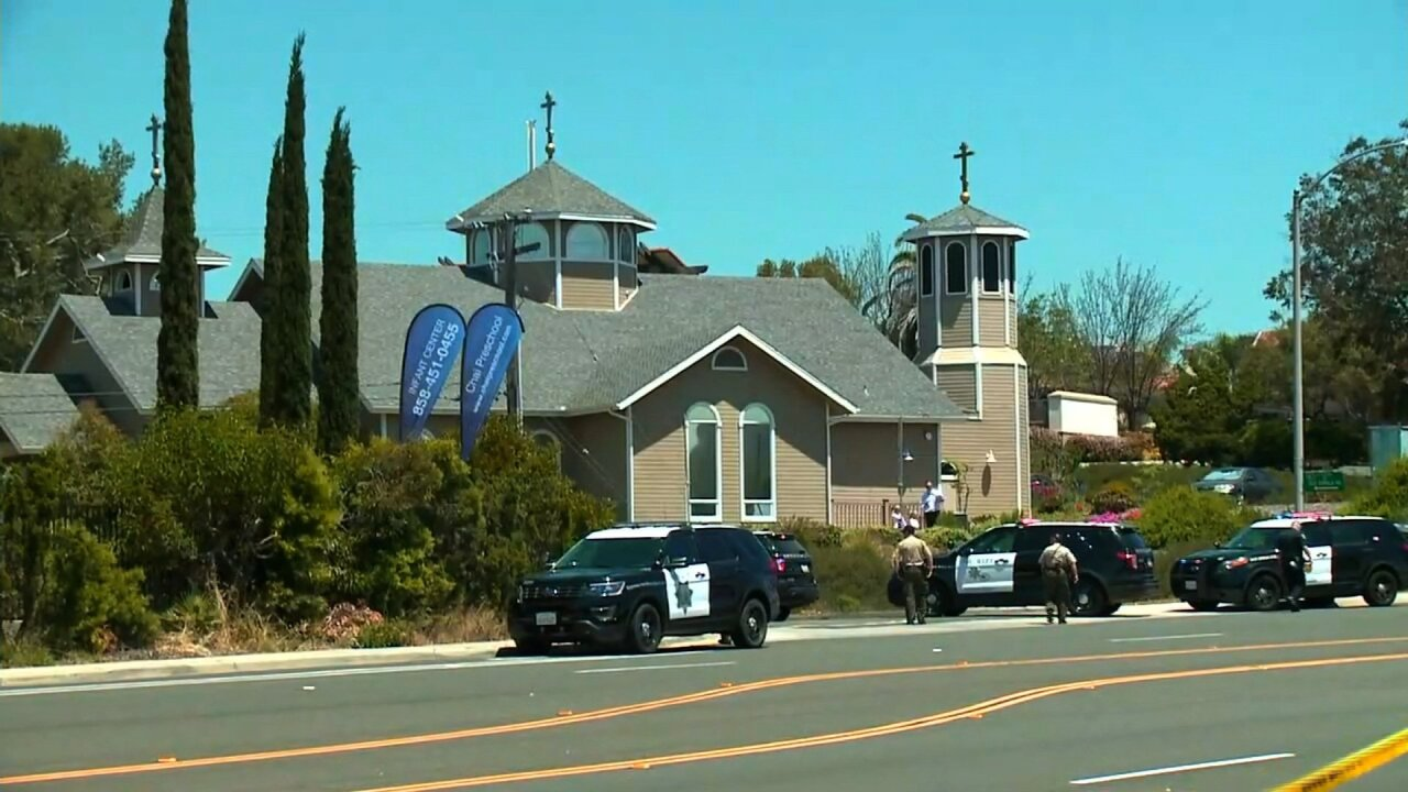 Synagogue shooting in California leaves at least 1 dead and 3 wounded