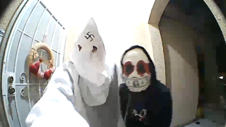KKK doorbell ring in Anthem