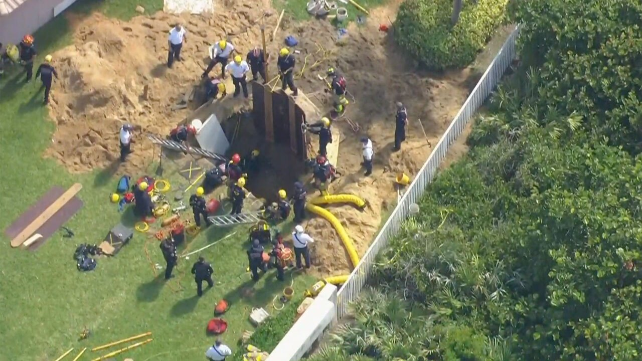 3 people rescued from 10-foot hole after construction accident in Juno Beach on Aug. 19, 2021