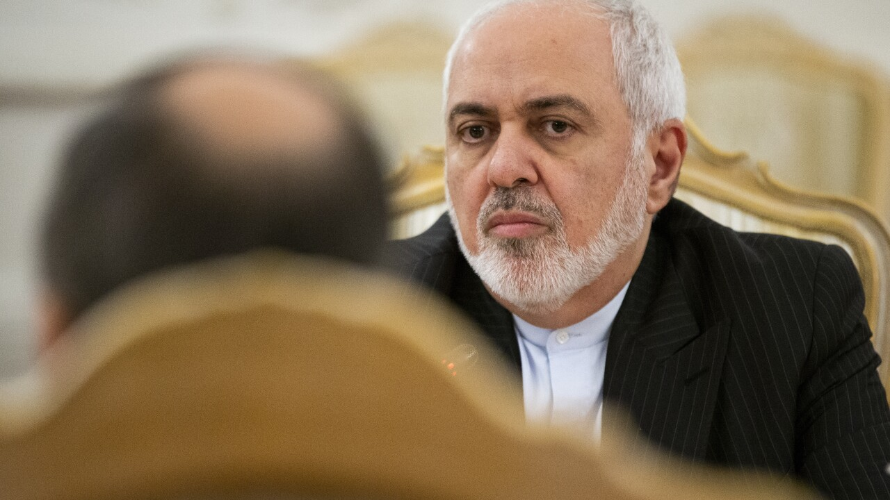 Iran's Foreign Minister: We do not seek escalation or war