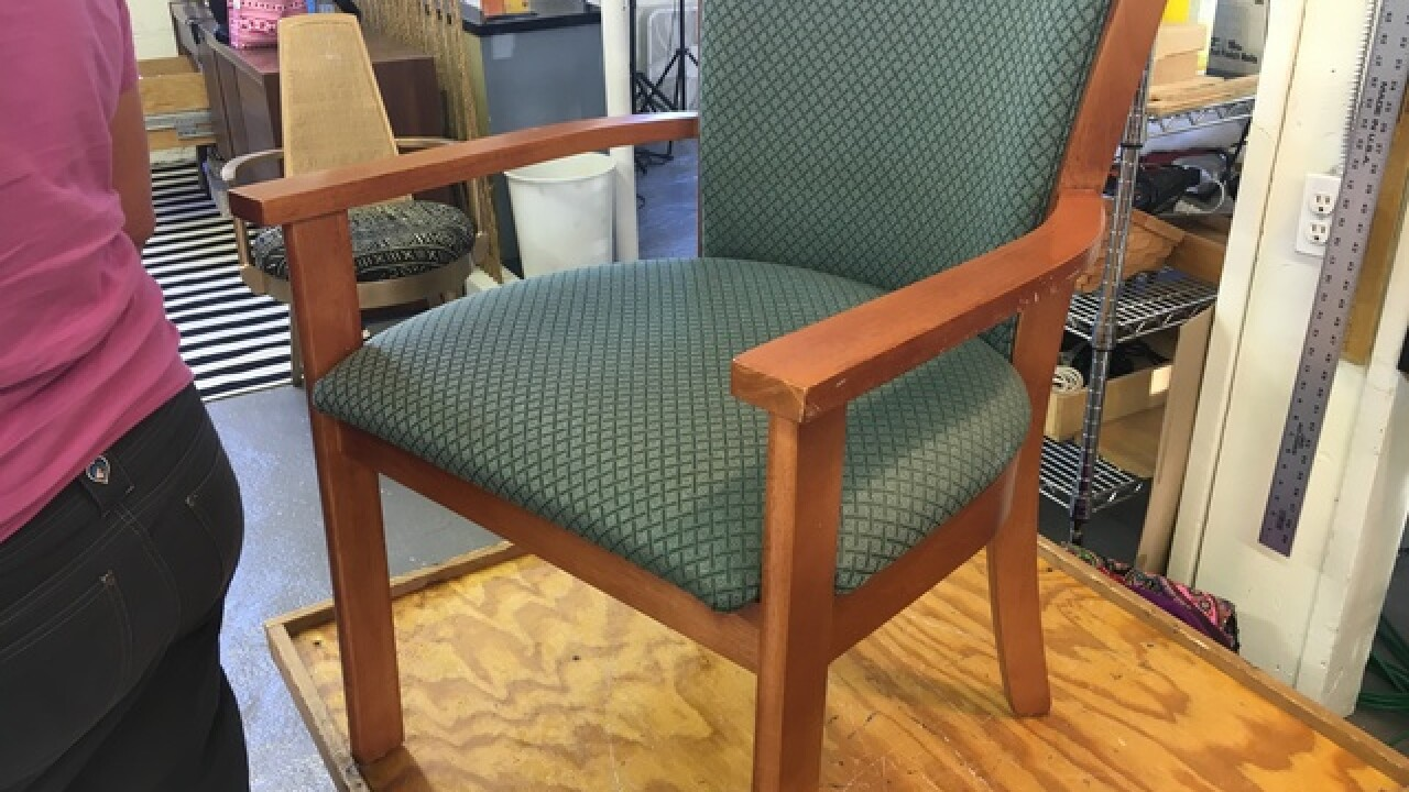 PHOTOS: Mastering the art of DIY upholstery