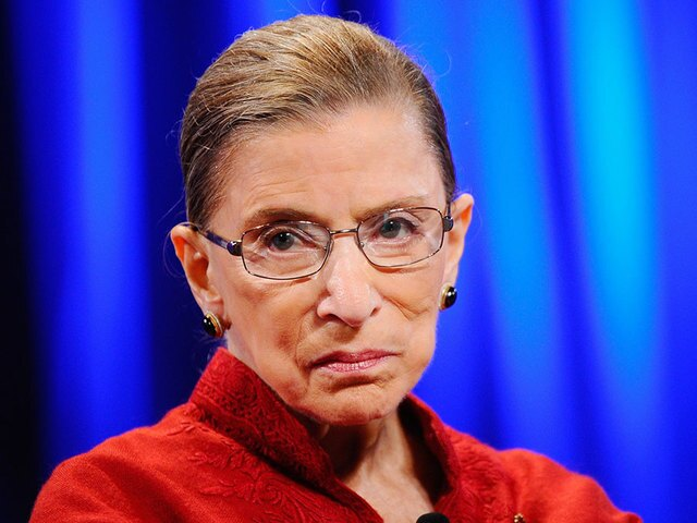 Justice Ginsburg speaks up again, this time about the 'visionary women' in the Passover story