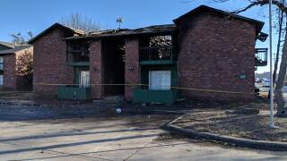 Girl burned, flown to Tulsa hospital after overnight fire at Muskogee apartment complex