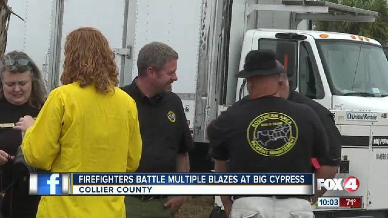 Wildfires burn nearly 70k acres in Collier Co.
