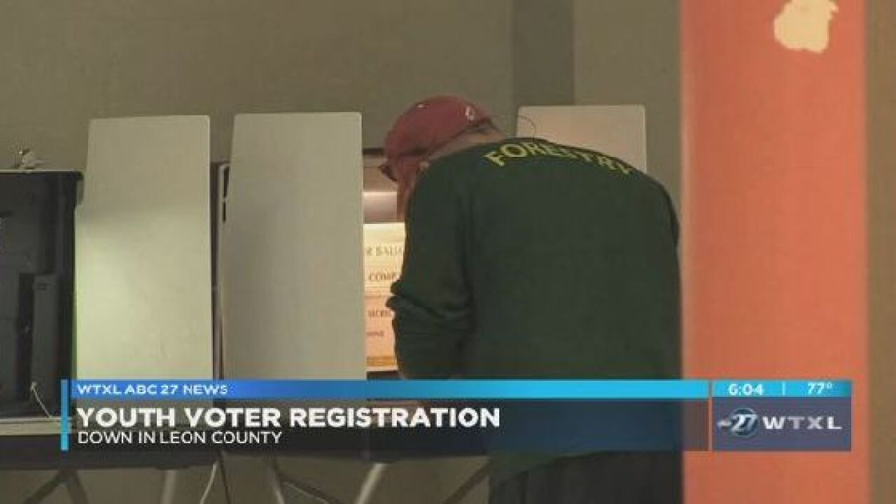 Voting numbers among youth down in Leon County