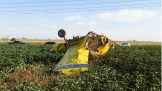 """Small plane crash caused by """"gender-reveal"""" stunt"""
