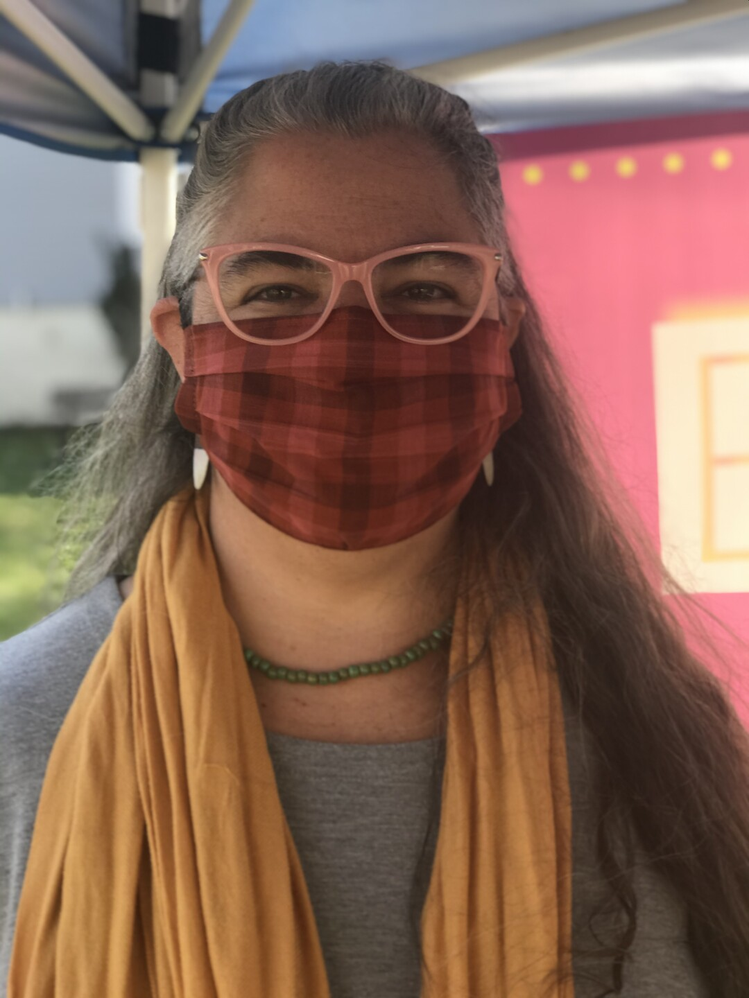 Jules Maloney said she normally sets up 'Empathy Booths' at community events and farmers markets. She hasn't been able to do that this year because of the coronavirus pandemic.
