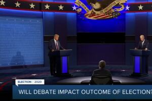 Do presidential debates matter? Polls show most voters say no