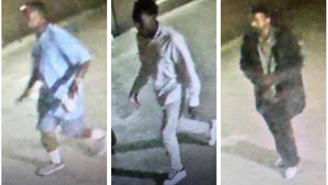 Police seek 3 men accused of attacking homeless man inRichmond