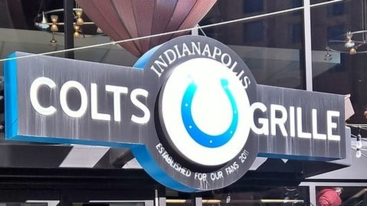 Indianapolis Colts Grille closing downtown restaurant