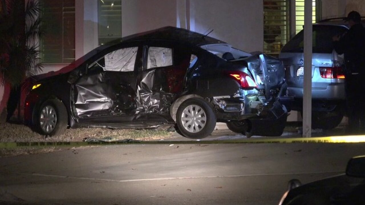 road rage truck driver rams car into carlsbad home 10news com