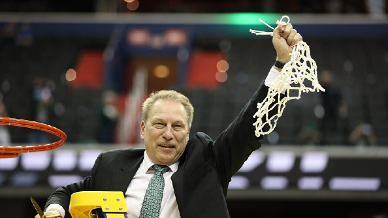 Final Four features Tom Izzo in his eighth trip, with three first-timers