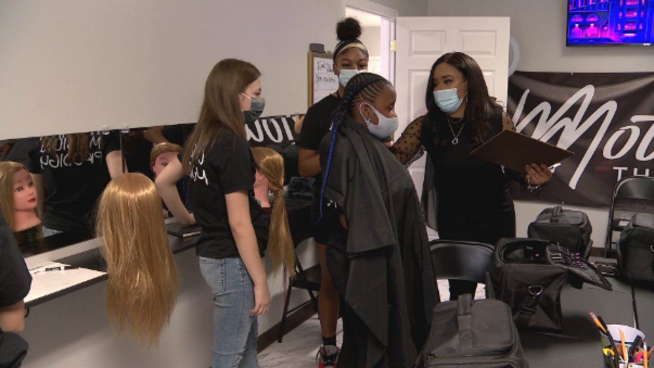 Murfreesboro beauty school teaches kids how to be a cut above the rest