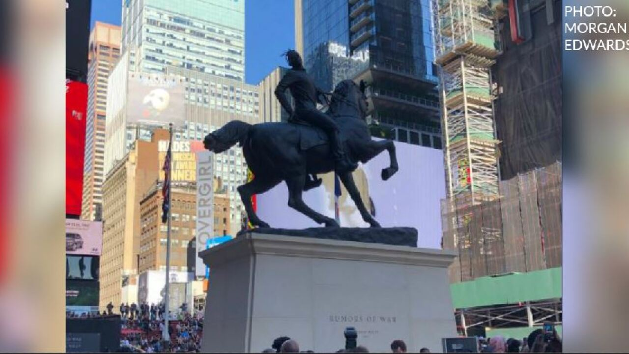 Take a look at the new Kehinde Wiley sculpture on its way toRichmond