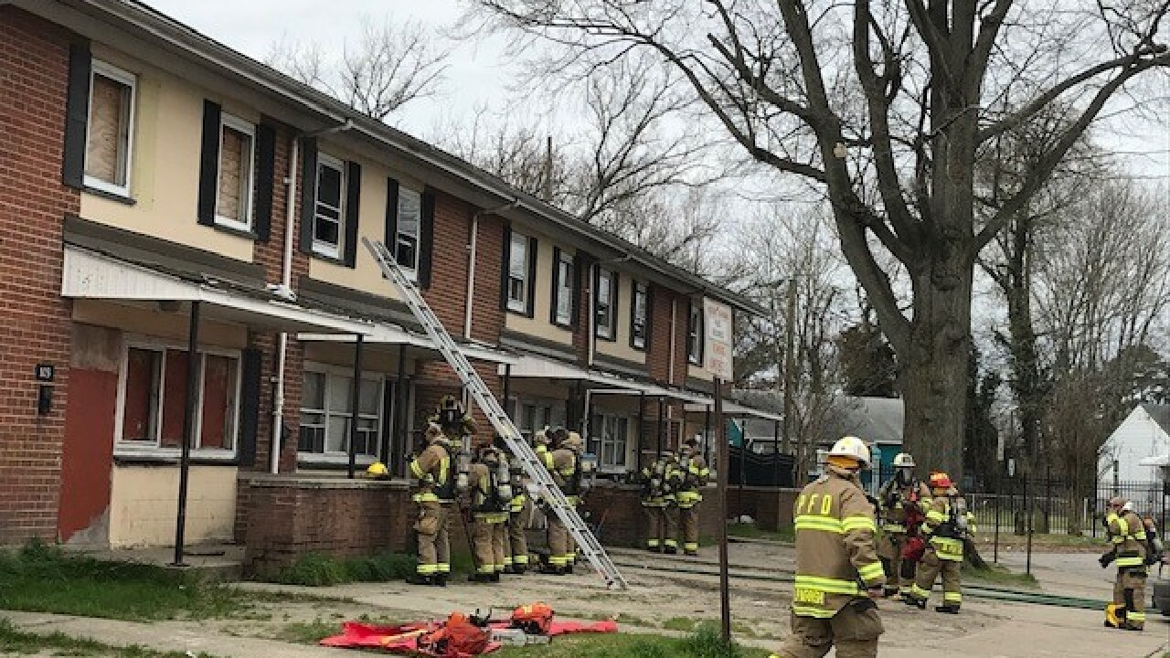 Adult, four children displaced after Portsmouth fire