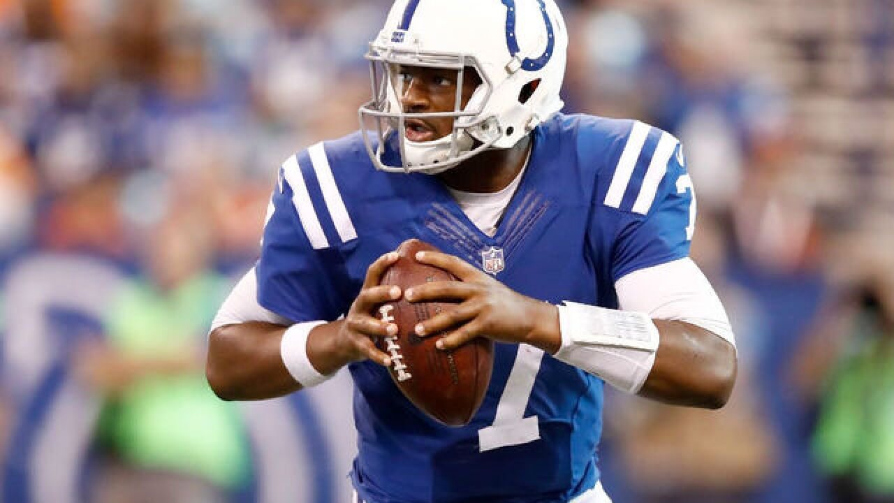 Wilson vs. Brissett? It's the matchup as Seahawks host Colts