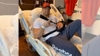 J.J. Watt recovering from surgery