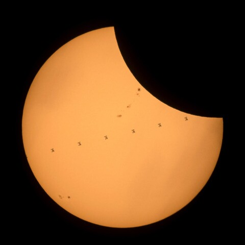 PHOTOS: The best of the 2017 solar eclipse