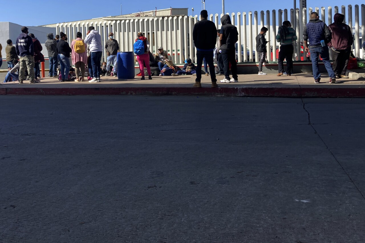 The Supreme Court says the Biden administration likely violated federal law in trying to end a Trump-era program that forces people to wait in Mexico while seeking asylum in the U.S. AP photo.