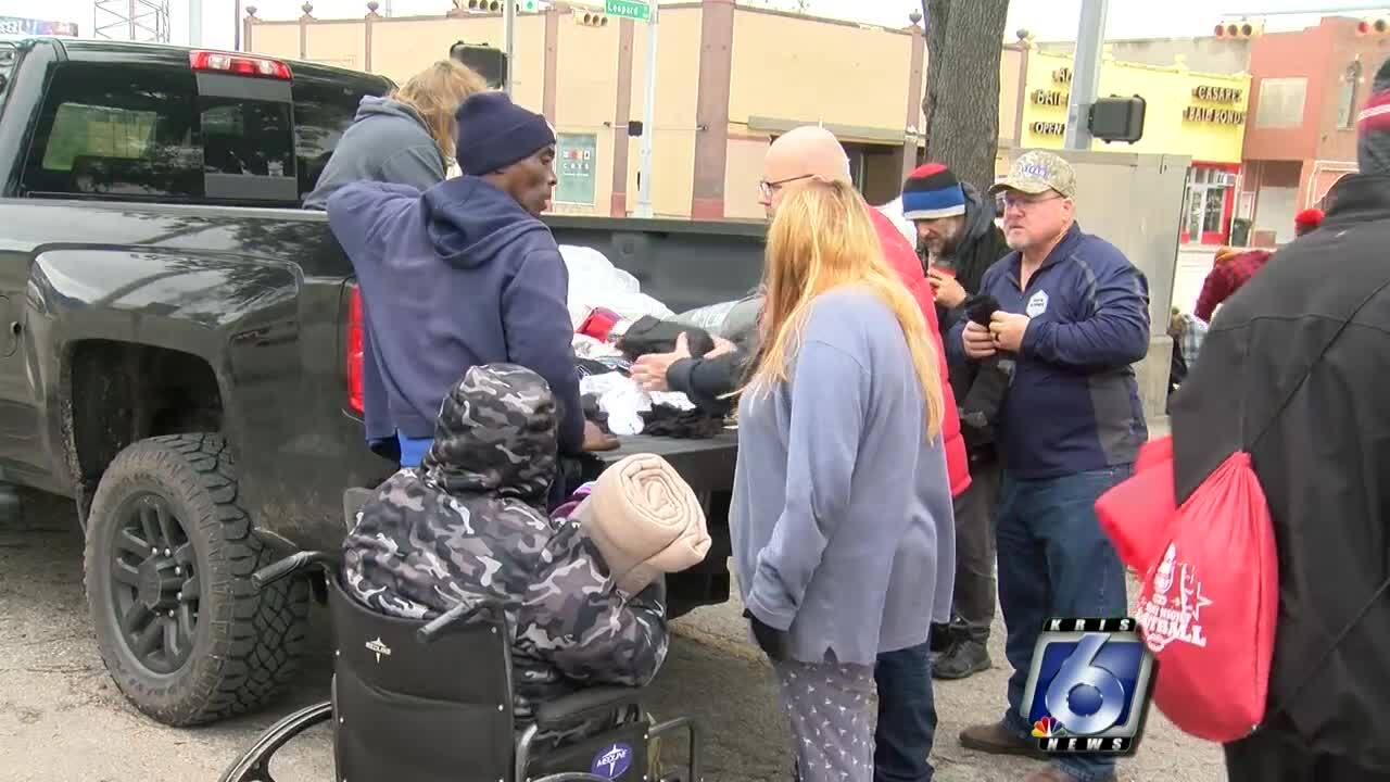 Homeless and transients flock to an area near City Hall