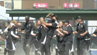 Belgrade Panthers 'here to stay' after winning AA softball title