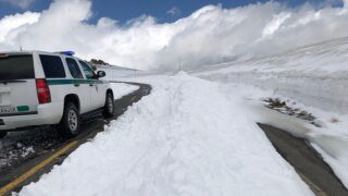 Trail Ridge Road still closed after heavy snow last weekend