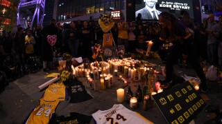 L.A. in mourning following tragic death of Lakers legend Kobe Bryant