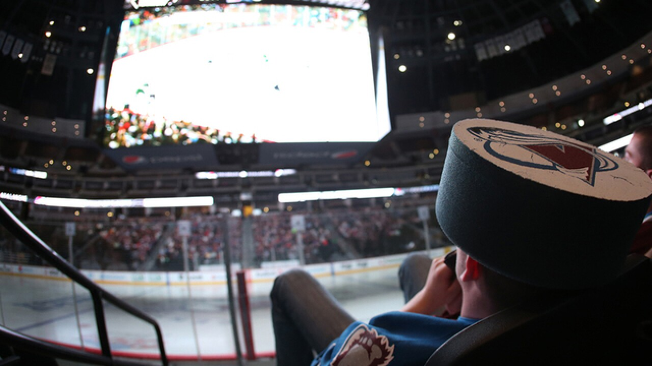 The Avs are hosting free watch parties for Round 1 of the playoffs this week