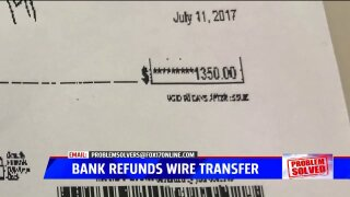 Problem Solved: Greenville man refunded $1,350 after bank's initial denial