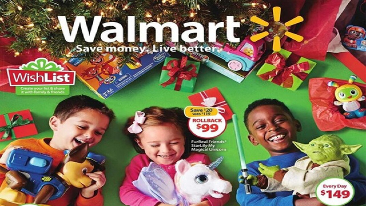Wal-Mart, Toys R Us, Target toy books released