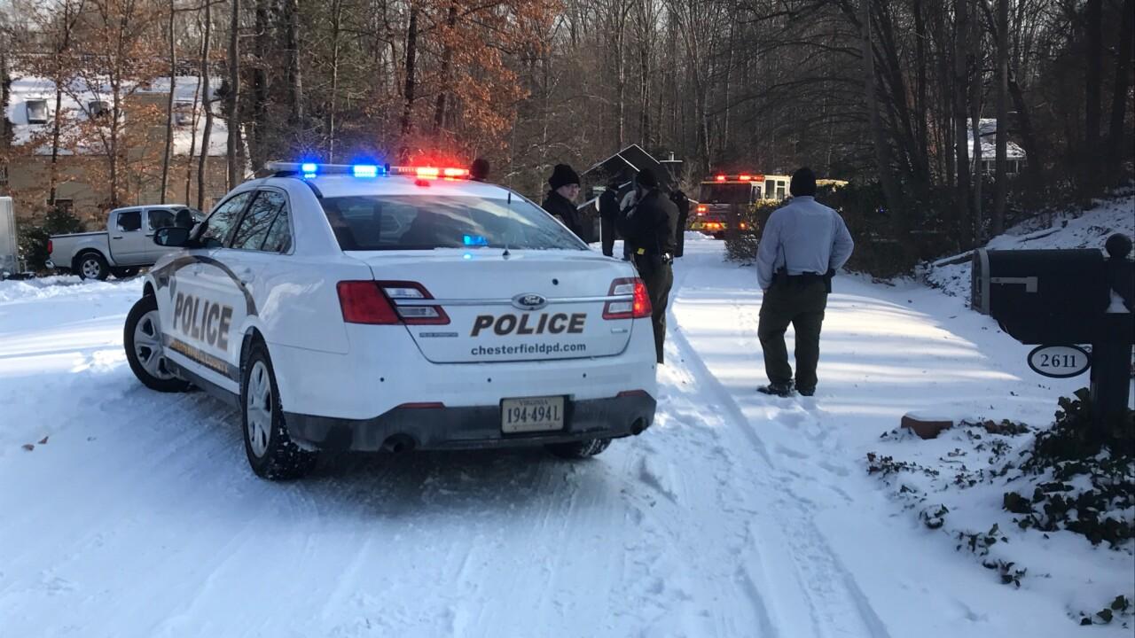 Girl, 9, killed sledding down Chesterdriveway