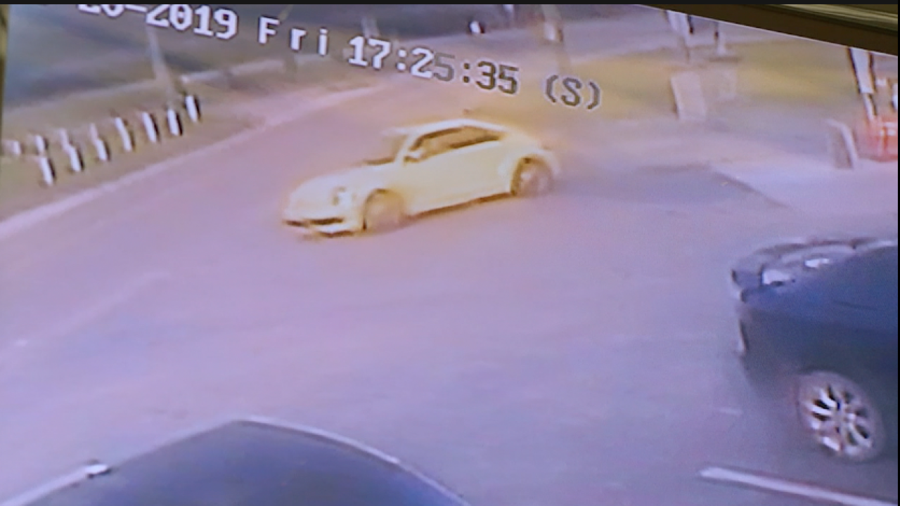 Yellow VW beetle involved in hit-and-run in Pasco County