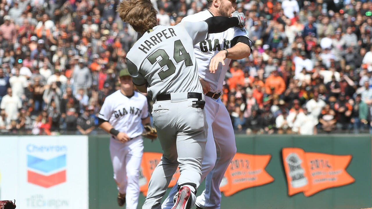 MLB issues discipline following Monday brawl between Nationals, Giants
