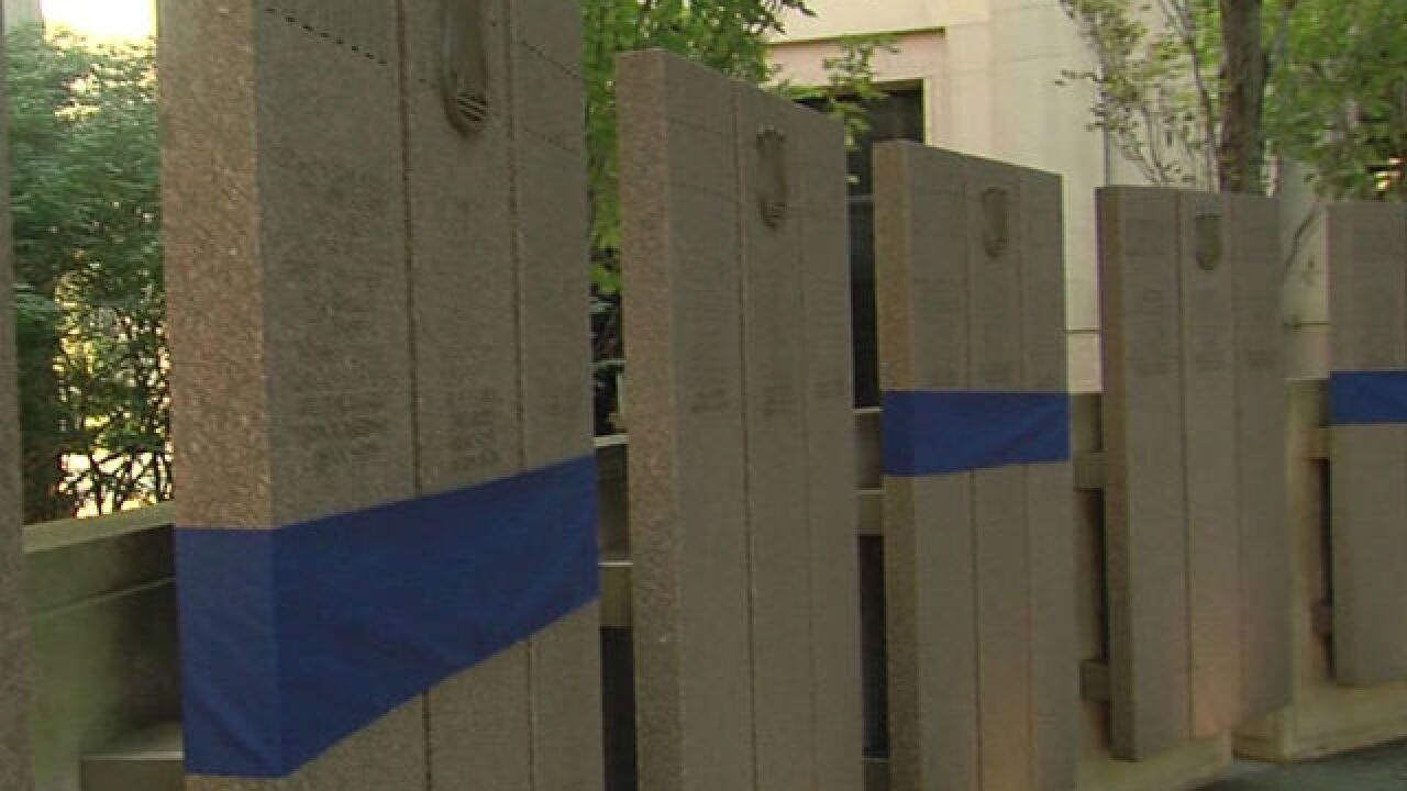 Indiana's fallen officers honored in downtown ceremony