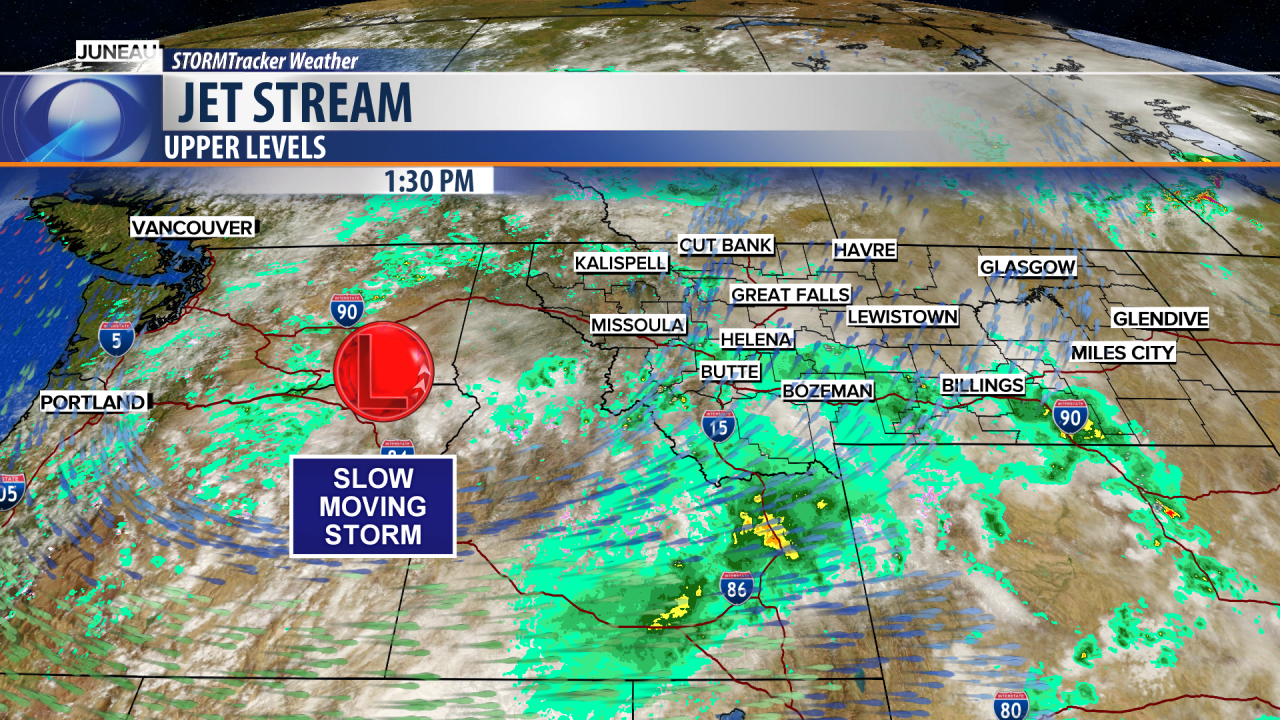 Periods of moderate to heavy rain through Wednesday morning